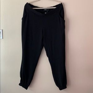 Torrid Black Crepe Formal Jogger Pants Size 2